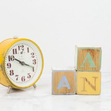 Bloques de letras personalizados ANA