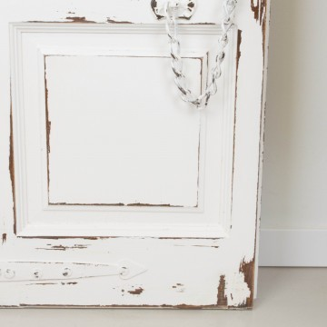 Espejo a partir de antigua puerta balconera con contraventana