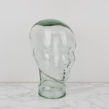 Cabeza de cristal francesa
