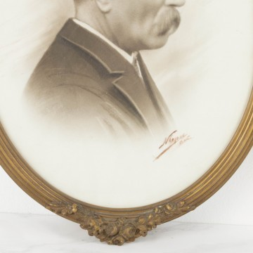 Pareja de retratos s. XIX