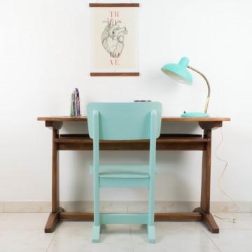 Pupitre clásico con silla a juego
