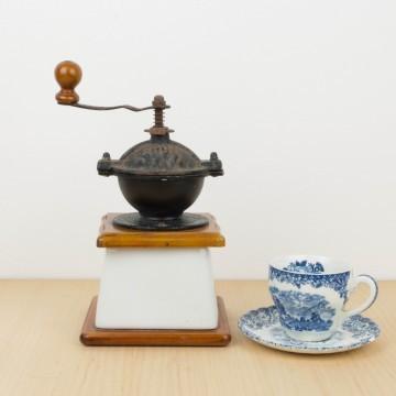 Molinillo de café de porcelana