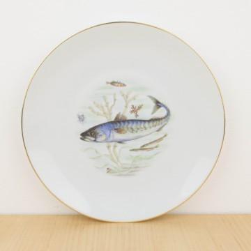 Servicio completo de pescado en porcelana