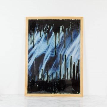 Pintura abstracta, Caminar entre las sombras, 2009
