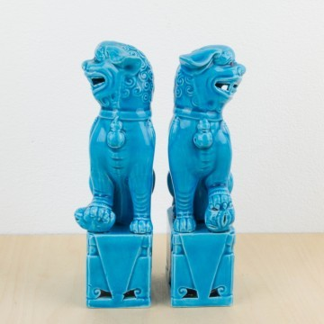 Pareja de leones de Fu
