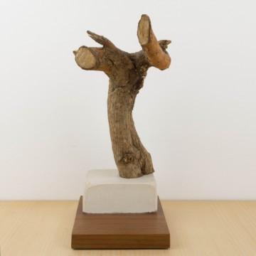 La cobardía humana, escultura de Cèlia Izquierdo