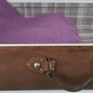 Maleta Vintage color marrón