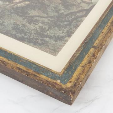 Litografía coloreada a mano, La Clochette