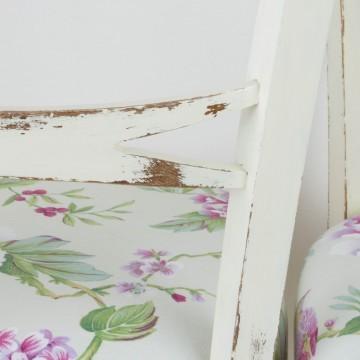 Pareja de sillas tapizadas estilo tropical