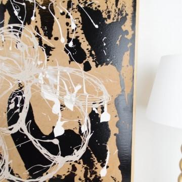 Pintura abstracta, Fragmentación emocional, de 2007