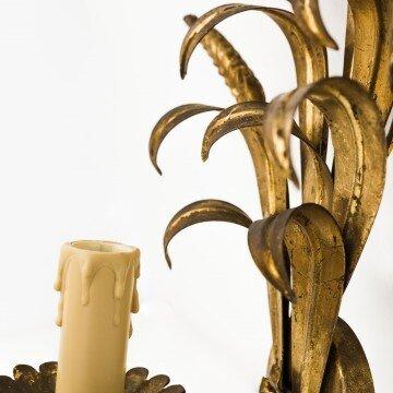 Aplique francés de metal dorado