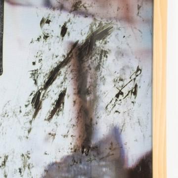 Más allá de la oscuridad, pintura original de Cèlia Izquierdo