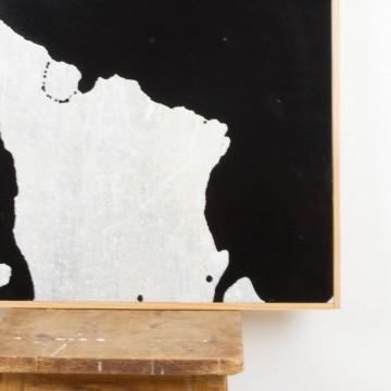 Incertidumbre, pintura abstracta original de Cèlia Izquierdo