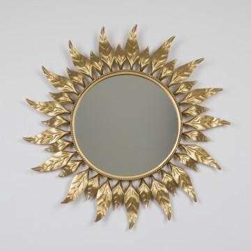 Espejo sol redondo vintage