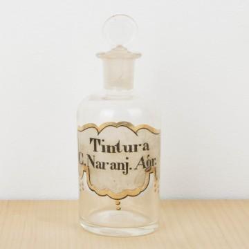 Pareja de botellas de tintura