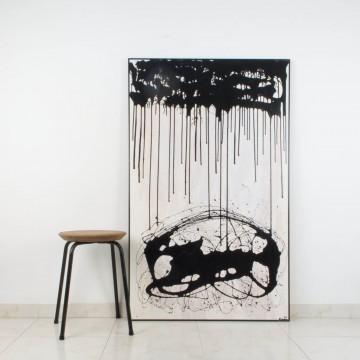 La voz de las sombras, 2006, pintura abstracta