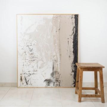 Entre las sábanas, pintura original de Cèlia Izquierdo