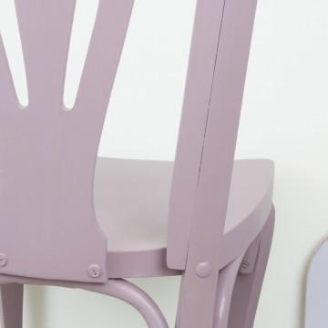 Silla Lucrecia violeta