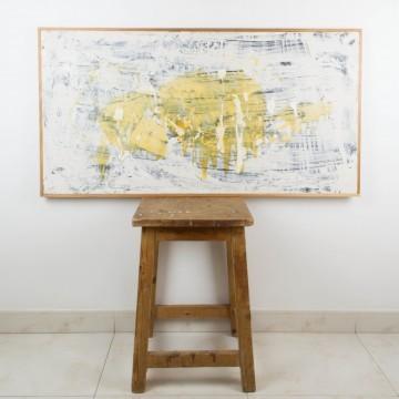 Piel envenenada, pintura abstracta del año 2007
