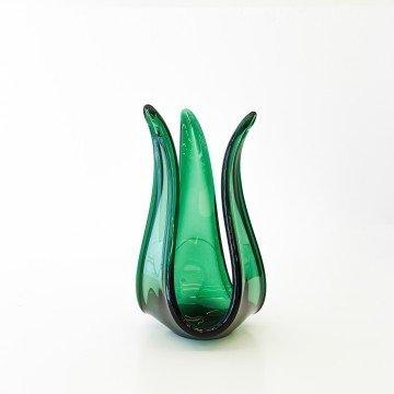 Centro de mesa de Murano verde