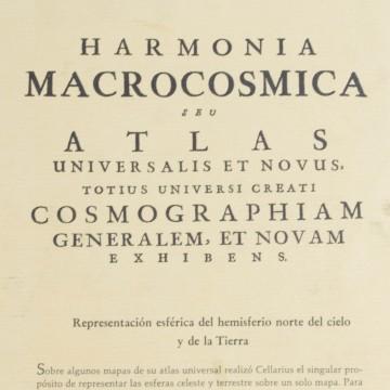 Harmonia Macrocosmica Hemisferio Norte del cielo y la tierra