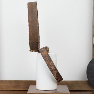 Anomalías de la ausencia, escultura de Cèlia Izquierdo