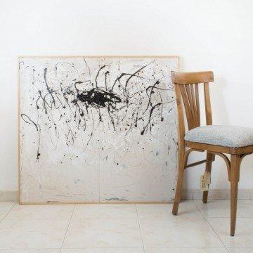 Pintura abstracta, La huella de tu voz