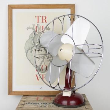 Ventilador de los años 50 Phillips
