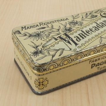 Antigua caja de Mantecadas de Tudela