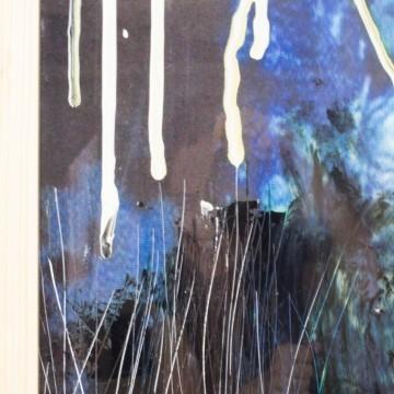 Pintura abstracta, Impresiones oscuras, 2009