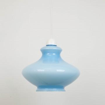Lámpara azul francesa