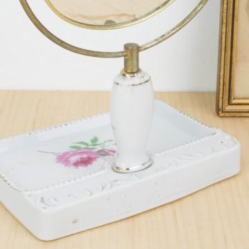 Pequeño espejo de tocador japonés