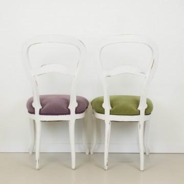 Pareja de sillas Helga
