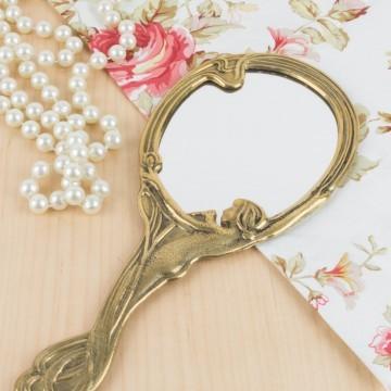 Espejo de mano estilo Art Nouveau