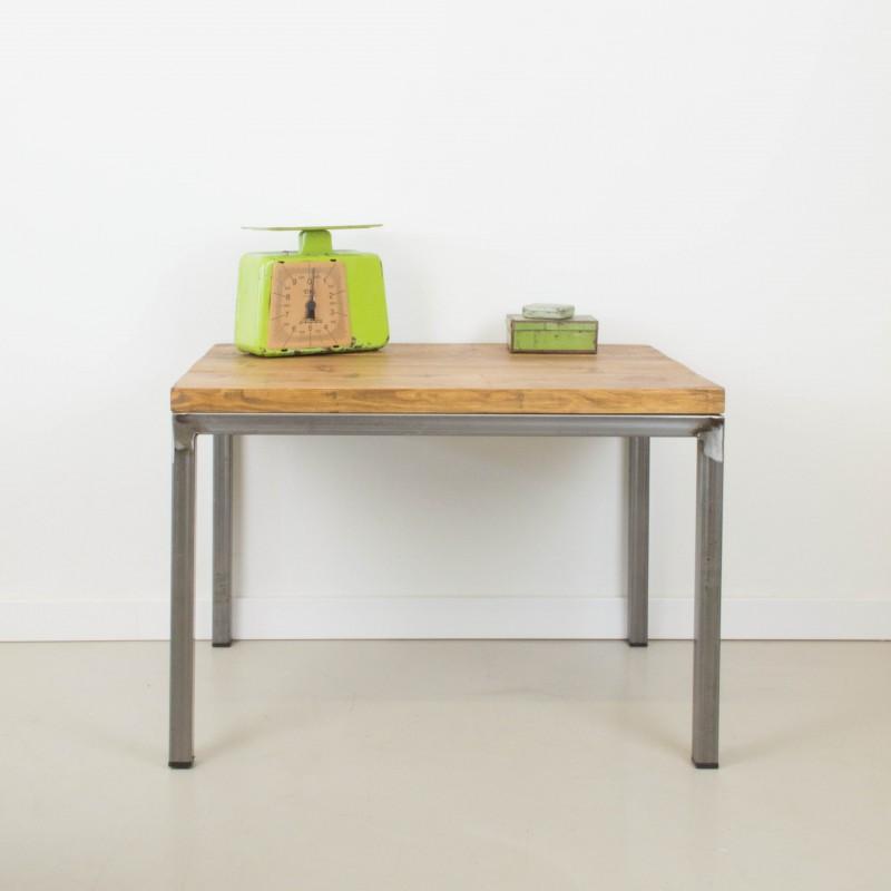 Mesa de centro estilo industrial rectangular mesas muebles for Mesas estilo industrial