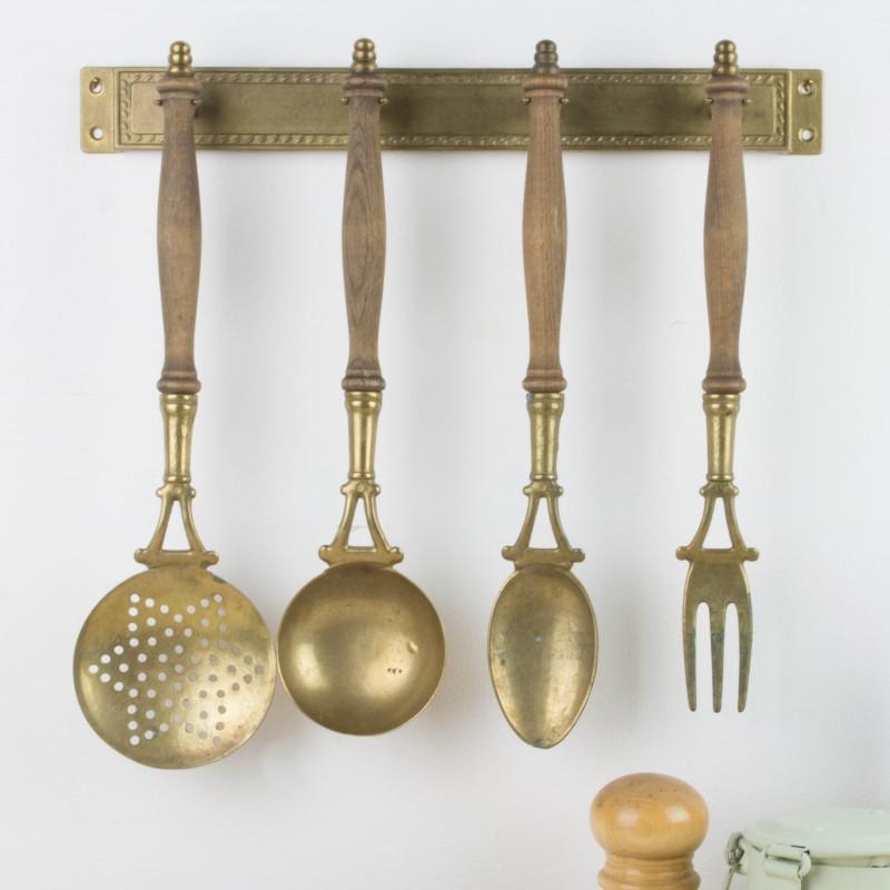 Antiguos utensilios de cocina para colgar | Menaje | Cocina